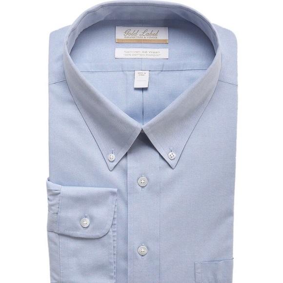 Roundtree & Yorke Other - Light blue men's tall dress shirt